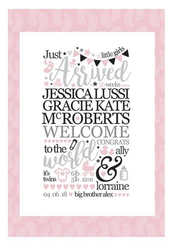 New Born Baby Print