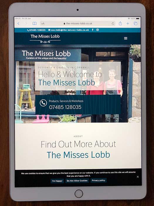 The Misses Lobb Website