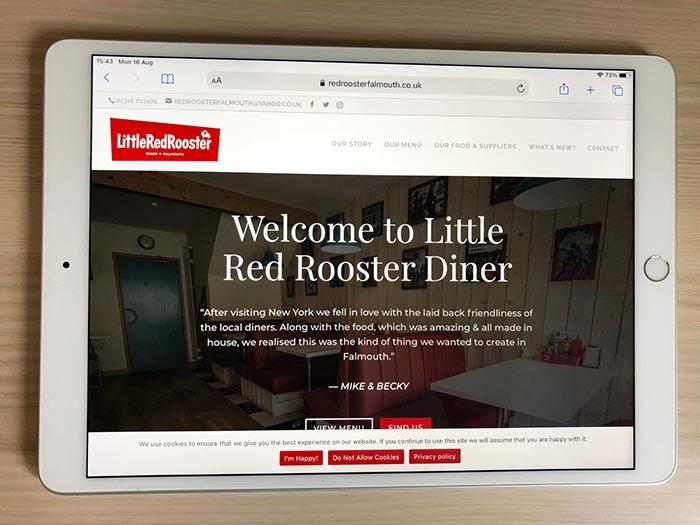 Little Red Rooster Website